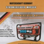 Stock : Generatori MAYERSKRAFT GERMANY
